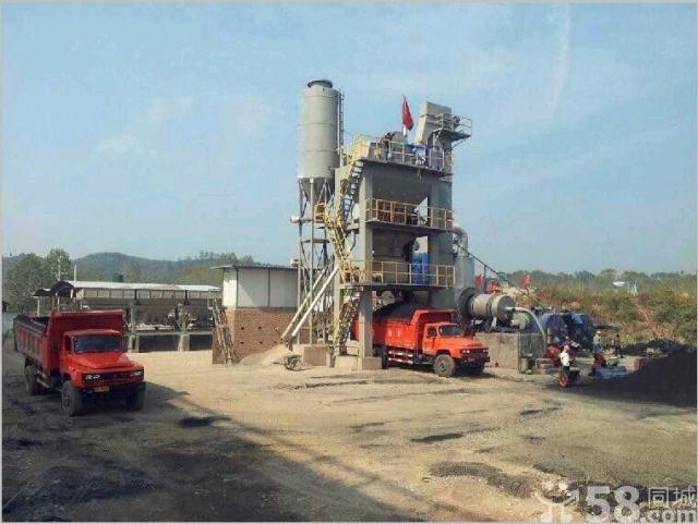 大型机械生产设备租赁——沥青混凝土拌合站(九成新)