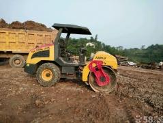 小型单钢轮压路4吨.侧卸装载机租售、30.50铲车